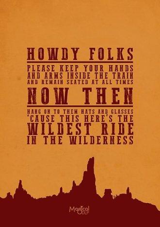 full thunder mountain railroad quote